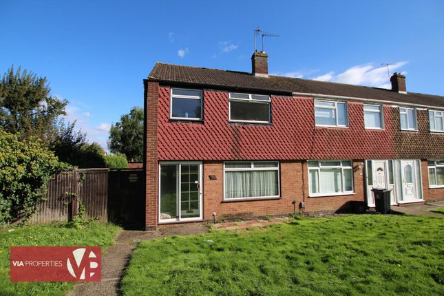 Thumbnail Terraced house to rent in Downfield Road, Cheshunt