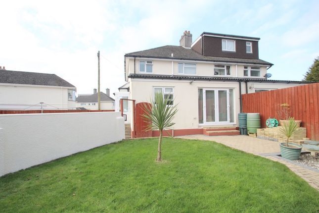Thumbnail Semi-detached house for sale in Cresthill Road, Beacon Park, Plymouth