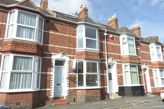 Thumbnail Terraced house to rent in Herschell Road, Exeter