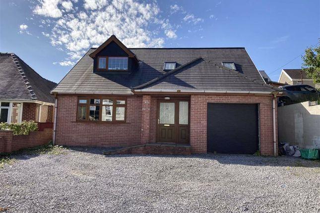 Thumbnail Detached bungalow for sale in New Road, Skewen, Swansea