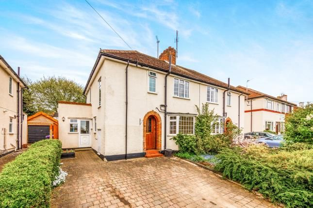 Thumbnail Semi-detached house for sale in Redhoods Way East, Letchworth Garden City, Hertfordshire, England