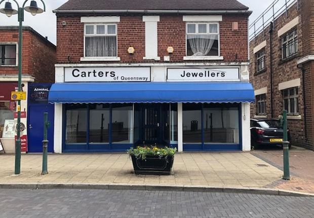 Thumbnail Retail premises for sale in Queensway, Crewe, Cheshire