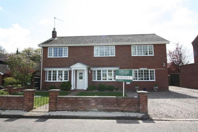 Thumbnail Detached house for sale in Elm House, The Green, Ormesby, Great Yarmouth