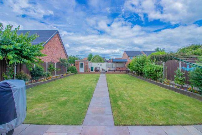 Garden At Back of The Hollows, Long Eaton, Nottingham NG10