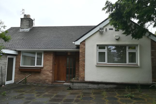 Thumbnail Detached bungalow to rent in Barkhill Road, Aigburth, Liverpool