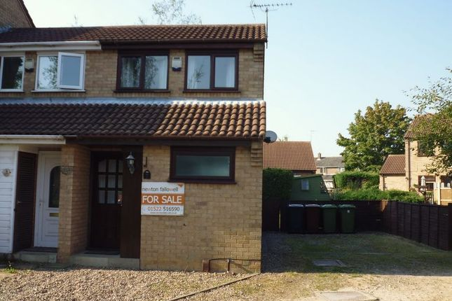 Thumbnail Semi-detached house to rent in Elsham Close, Lincoln