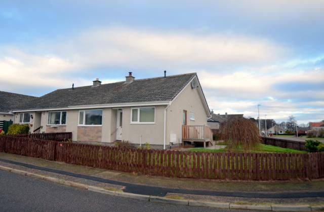 Thumbnail Semi-detached house for sale in 12 Elm Grove, Nairn