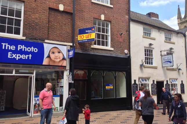 Thumbnail Retail premises to let in Little Westgate, Wakefield