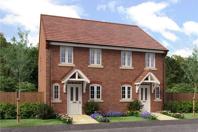"""Thumbnail Town house for sale in """"Burroughs"""" at Radbourne Lane, Derby"""
