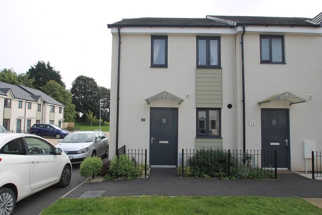 Thumbnail End terrace house for sale in Polperro Place, Plymouth