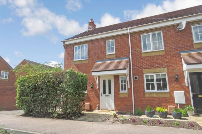 Thumbnail End terrace house for sale in Brunel Drive, Biggleswade