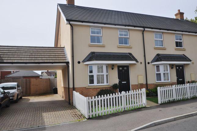 Thumbnail End terrace house for sale in Kingston Road, Benfleet