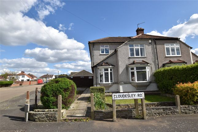 Thumbnail Semi-detached house for sale in Cloudsley Road, Bexleyheath, Kent