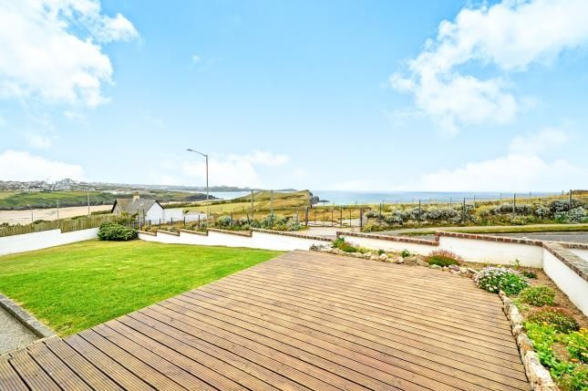 Thumbnail Bungalow for sale in Porth, Newquay, Cornwall