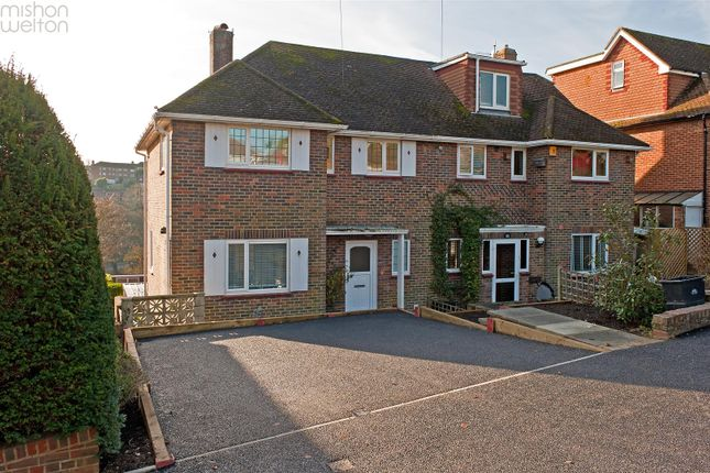 Thumbnail Semi-detached house for sale in Copse Hill, Brighton