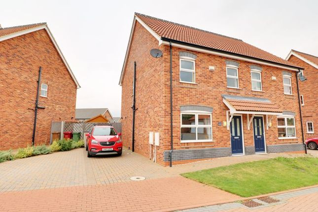 Thumbnail Semi-detached house for sale in Appleleaf Lane, Barton-Upon-Humber