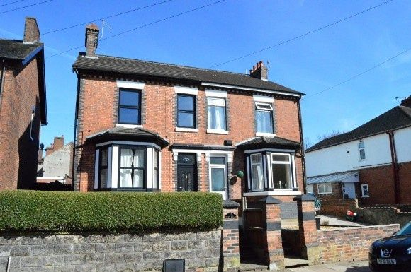Thumbnail Semi-detached house to rent in Haydon Street, Basford, Stoke-On-Trent