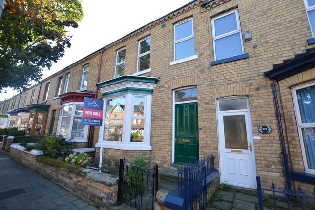 Thumbnail Terraced house for sale in Prospect Road, Scarborough
