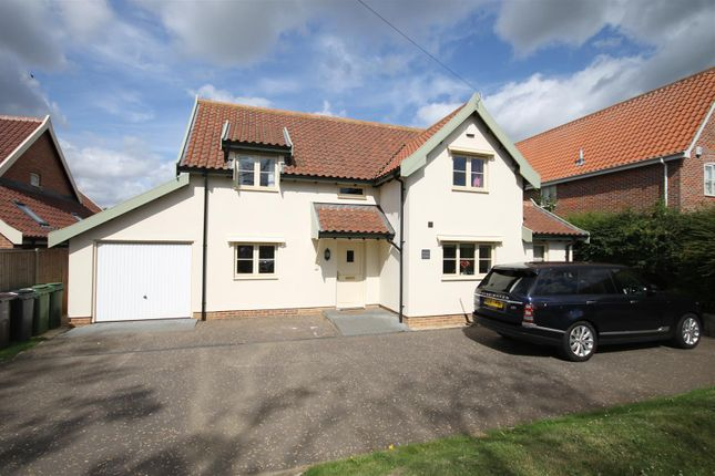 Thumbnail Detached house to rent in Norwich Road, Saxlingham Nethergate, Norwich