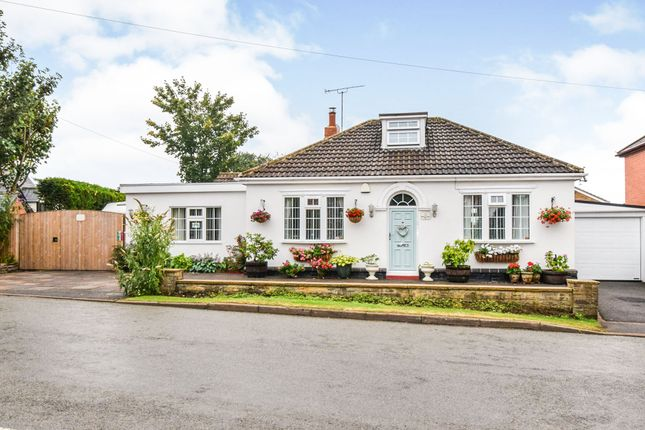 Thumbnail Detached bungalow for sale in Oaks Road, Great Glen, Leicester