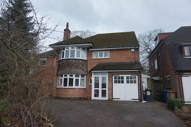 Thumbnail Detached house for sale in The Grove, Little Aston, Sutton Coldfield