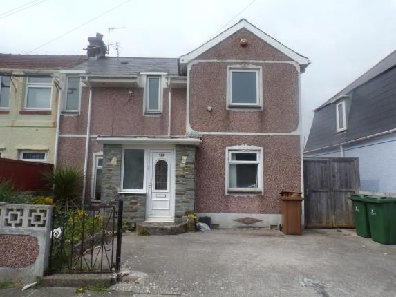 Thumbnail Semi-detached house for sale in Lipson, Plymouth, Devon