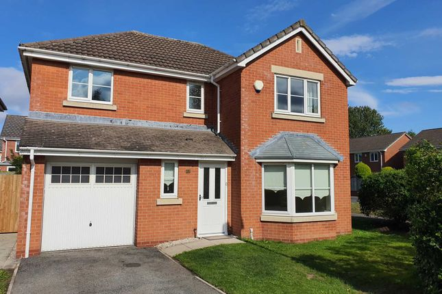 Thumbnail Detached house to rent in Mildenhall Close, Great Sankey
