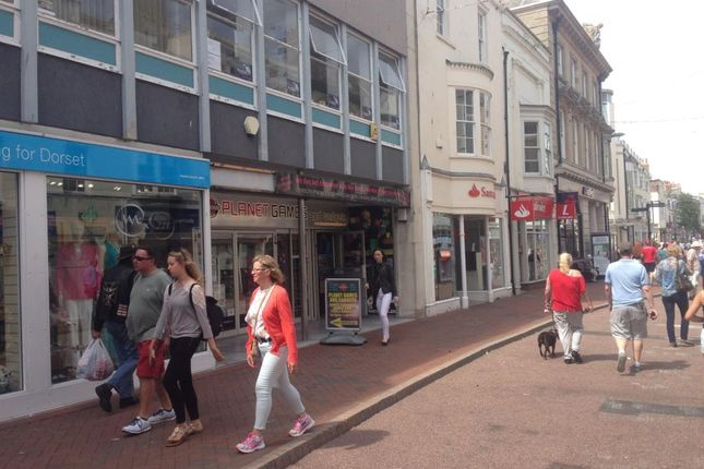Thumbnail Retail premises to let in St Thomas Street, Weymouth, Dorset