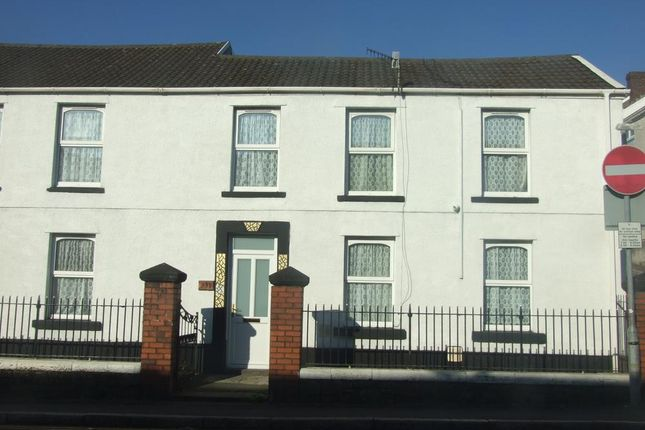 Thumbnail Terraced house for sale in Neath Road, Plasmari, Swansea