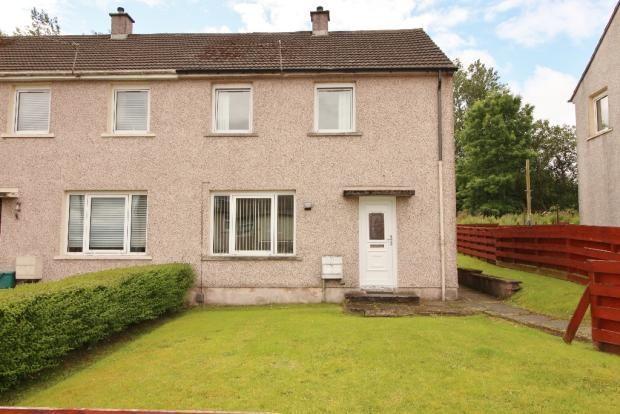 Thumbnail End terrace house for sale in Lomond Avenue, Port Glasgow