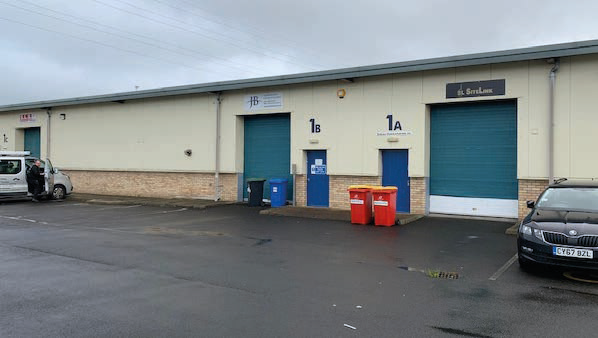 Thumbnail Light industrial to let in Whitehill Business Units, Inchmuir Road, Bathgate