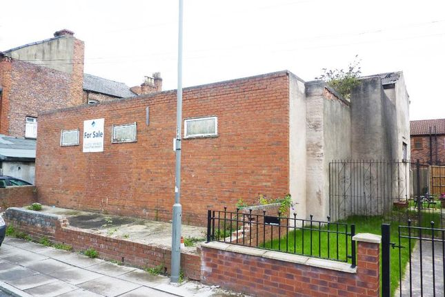 Thumbnail Land for sale in Holland Street, Liverpool, Merseyside