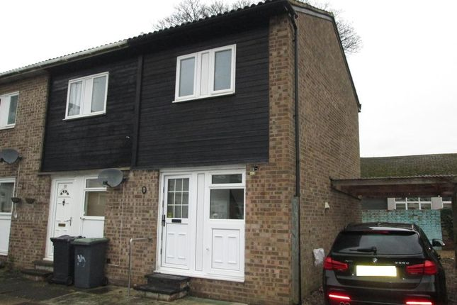 1 bed end terrace house to rent in Poplar Close, Sandy