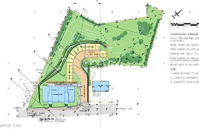 Thumbnail Land for sale in Land Adjacent To Station Road, Whitecross, Linlithgow, West Lothian EH496Jz