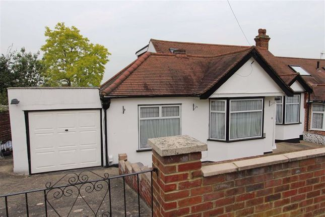 Thumbnail Semi-detached bungalow for sale in Mount Echo Drive, North Chingford, London