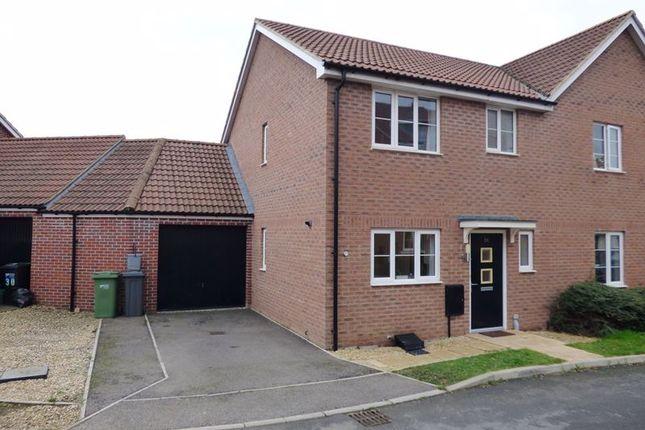 Thumbnail Semi-detached house for sale in Acorn Way, Hardwicke, Gloucester