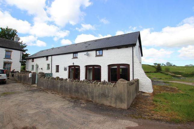 Thumbnail Barn conversion for sale in Trecastle, Brecon