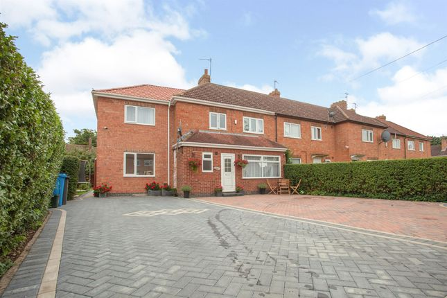 Thumbnail End terrace house for sale in Netherfield Grove, Corby
