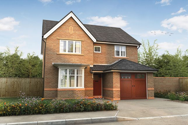 "Thumbnail Detached house for sale in ""The Lydgate"" at Omega Boulevard, Warrington"