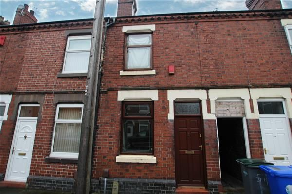 Thumbnail Terraced house for sale in Hines Street, Heron Cross, Stoke-On-Trent