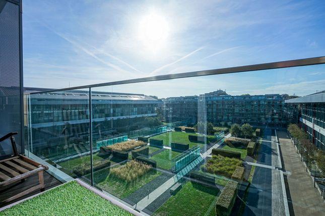 Balcony of Highbury Stadium Square, London N5