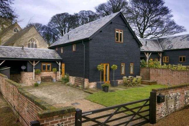 Thumbnail Barn conversion for sale in St. Marys Court, Church End, Kensworth, Bedfordshire