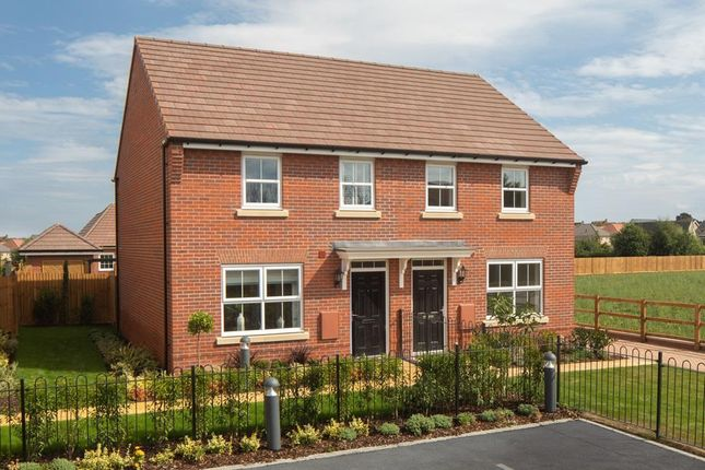 "Thumbnail End terrace house for sale in ""Archford"" at Old Stowmarket Road, Woolpit, Bury St. Edmunds"