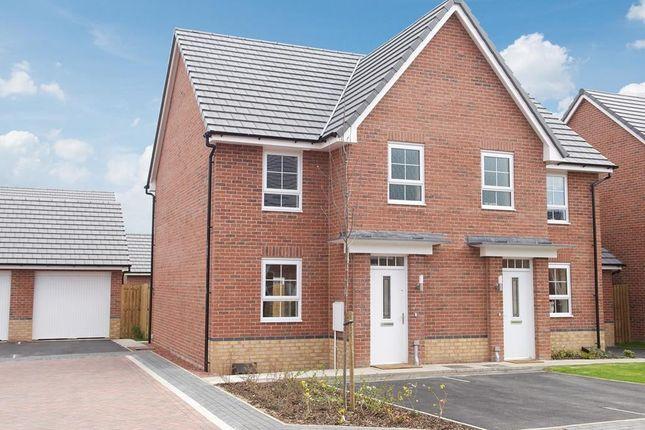 "Thumbnail Semi-detached house for sale in ""Dewsbury"" at Dearne Hall Road, Barugh Green, Barnsley"