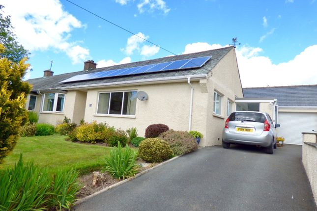 Thumbnail Semi-detached bungalow for sale in Warwick Drive, Endmoor, Kendal