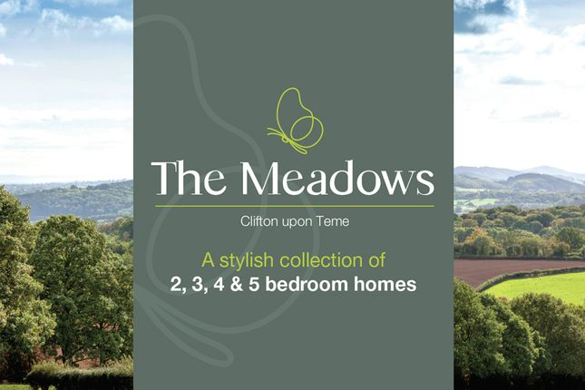 Thumbnail End terrace house for sale in The Meadows, Clifton-On-Teme, Worcester