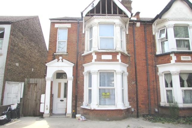 Thumbnail End terrace house to rent in Chaplin Road, Wembley, Middlesex