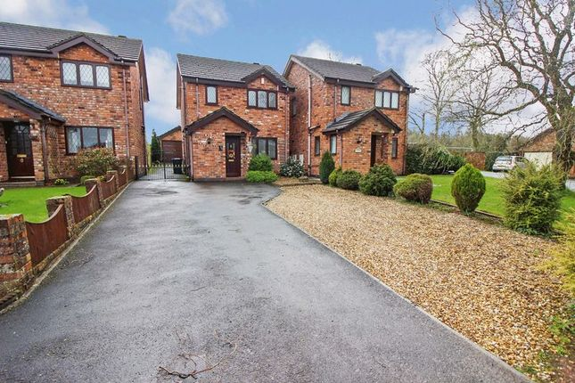 Thumbnail Detached house for sale in The Willows, Leek, Staffordshire