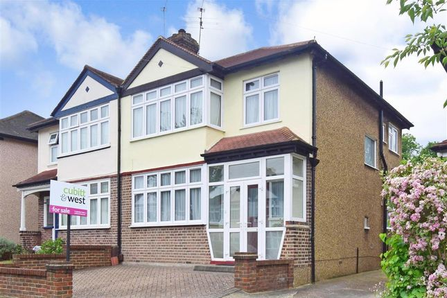Thumbnail Semi-detached house for sale in Royston Avenue, Wallington, Surrey
