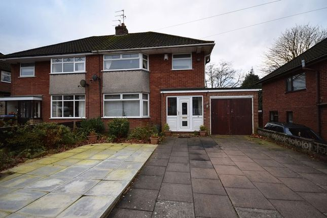 Thumbnail Semi-detached house for sale in Uplands Croft, Werrington, Stoke-On-Trent